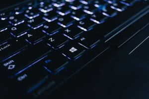 Black Keyboard image