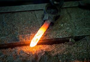 Hot forging steel